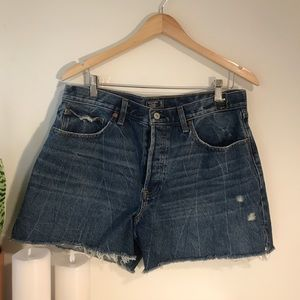 Abercrombie and Fitch cut off jean shorts